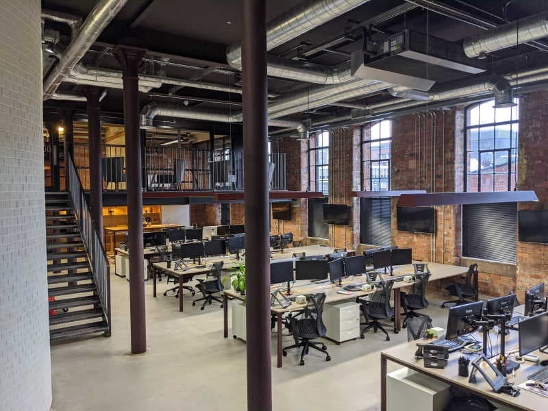 The inside view of the Razor Sheffield Office