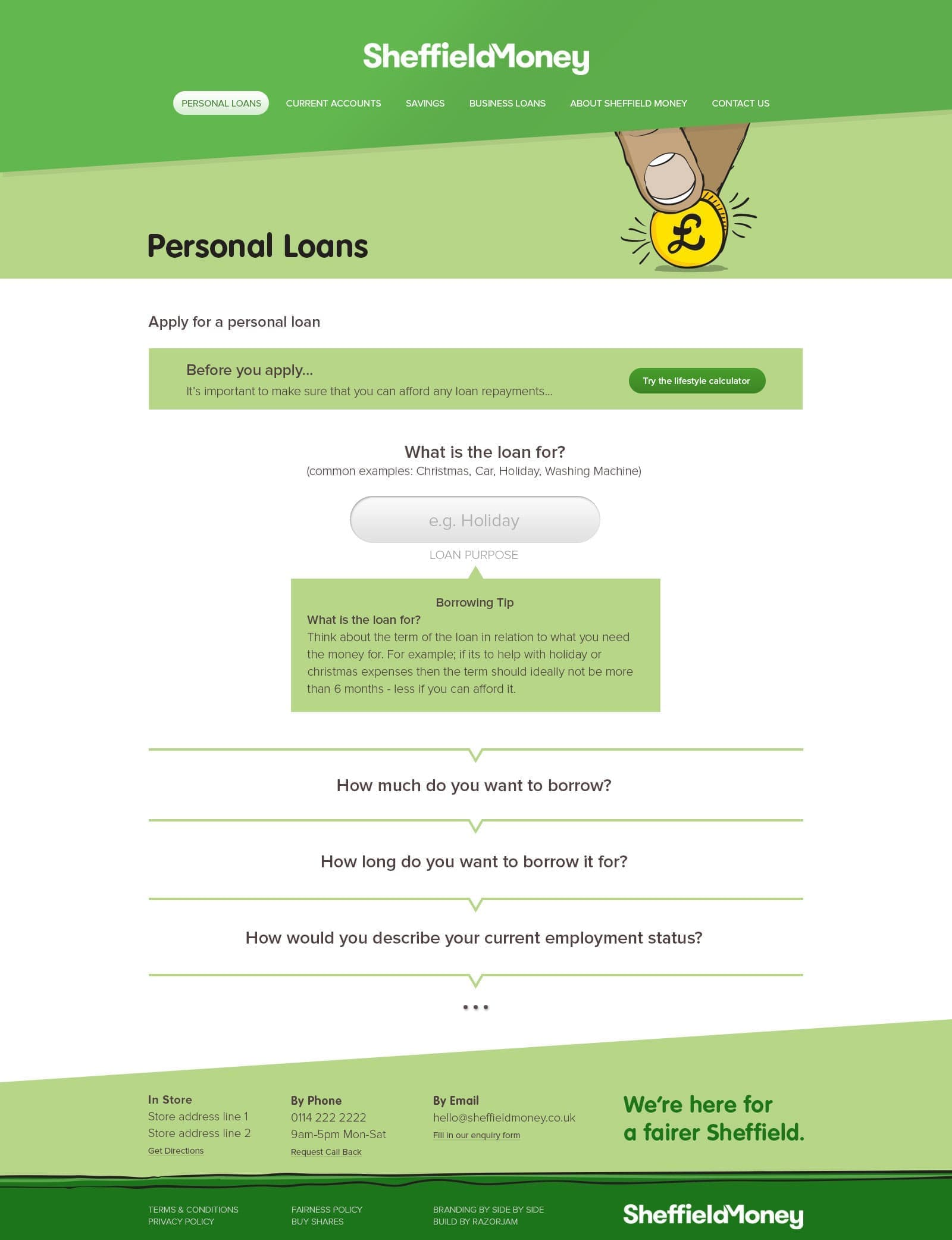 Sheffield Money Personal Loans Finished Page - 2